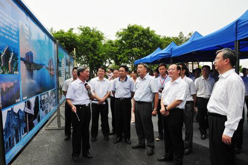 省政府召开珠三角地区水环境综合整治与绿色生态水网建设工作现场会