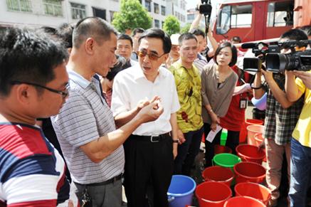 朱小丹省长强调要把练江流域综合整治工作抓得更紧更实更严